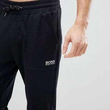 BOSS By Hugo Boss Contemporary Joggers with Cuffed Ankle in Regular Fit at asos.com