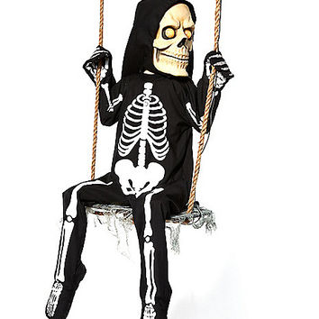 Swinging Skeleton Boy - Spirithalloween.com