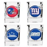 NFL New York Giants Collector's Shot Glasses (Set of 4)