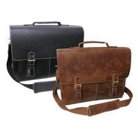 Designer Leather Men's Briefcases On Sale