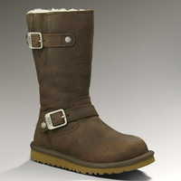 UGG® Kids Kensington | Leather Buckle Boots for Kids at UGGAustralia.com