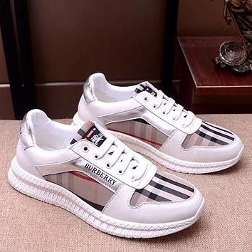 Trendsetter Burberry Men Fashion Casual Shoes