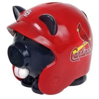 MLB St. Louis Cardinals Resin Large Helmet Piggy Bank