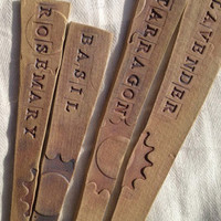 Herb Garden Marker - Set of 4