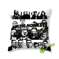 The 1975 arctic monkeys bastille the neighbourhood Square Pillow Cover