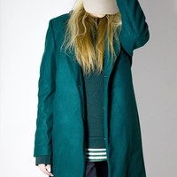 The CXX Jungle Green Overcoat