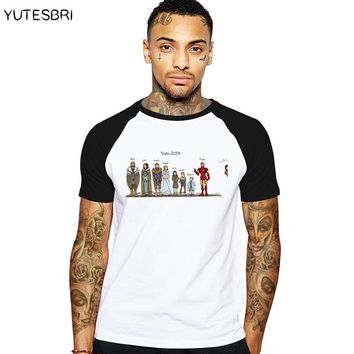 New years Comics Funny men clothes house stark T shirt homme summer T-shirt jon snow t shirt cotton male Game of thrones tshirt