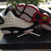 Air Jordan Retro 13 What is Love basketball shoes retro 13s OREO sport shoes