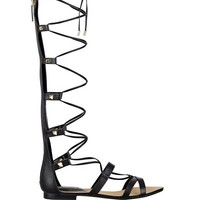 Mylanie Knee-High Gladiator Sandals at Guess