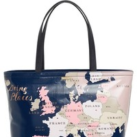 kate spade new york 'going places - francis' crystal embellished tote | Nordstrom