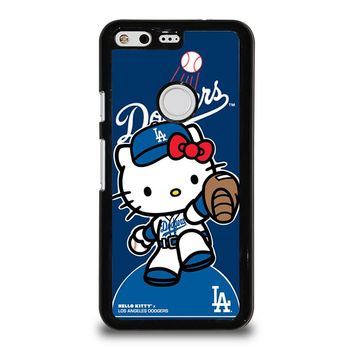 HELLO KITTY LA DODGERS Google Pixel Case Cover