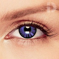 iD Lenses Dolly Eye Violet Coloured Contacts