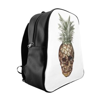 Pineapple Skull Backpack