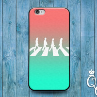iPhone 4 4s 5 5s 5c 6 6s plus iPod Touch 4th 5th 6th Generation Cool Ombre Mint Pink Cover Famous Rock Band Hippie Music Cute Phone Case