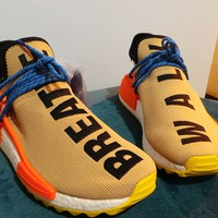 Adidas x Pharrell Williams NMD Human Race Hu Trail Pale Nude UK 8.5 US 9