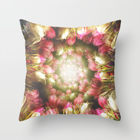Do you love me Throw Pillow by HappyMelvin