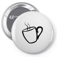 coffee Pin-back button
