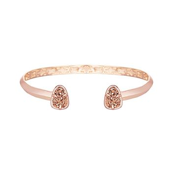 Hanna Bracelet in Rose Gold Drusy - Kendra Scott Jewelry