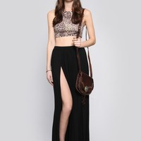 Talia Maxi Skirt - Black | GYPSY WARRIOR