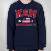 Kalin and Myles - K&M Navy Crew neck [KAM3003]: Now Just $40.00