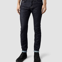 Mens Clift Cigarette Jeans (Indigo) | ALLSAINTS.com