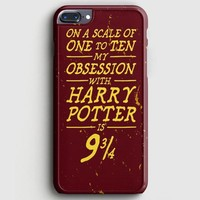 Harry Potter Movie Poster Barely There iPhone 7 Plus Case