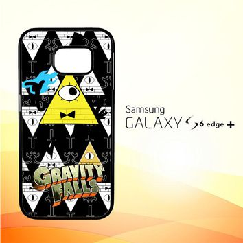 gravity falls bill cipher W3347 Samsung Galaxy S6 Edge Plus Case
