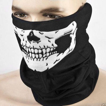 High Quality Balaclava Hood Face Ghost Skull Mask Hood COD Ghost Mask Biker field grimacing Call Of Duty [9305764167]