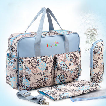 Mother Bags Baby Diaper Stroller Bags - 3 Piece Set