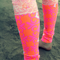 goddess of hearts leggings