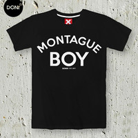 MONTAGUE BOY ,Romeo & Juliet,Montague,Minimal T-shirt,Quote Tshirt,Slogan Tshirt, Romeo shirt, Juliet Shirt,tumblr,Teen Tshirt,friend gift
