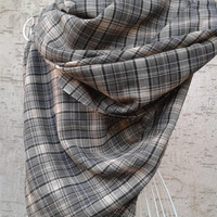 Plaid Blanket Scarf, Plaid Blanket Scarves, Plaid Shawl
