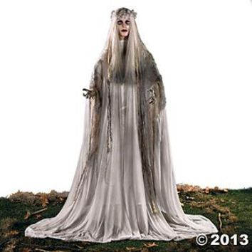 Standing Ghost Girl, Scary Halloween Decorations, Halloween Decorations, Halloween, Holidays - Oriental Trading