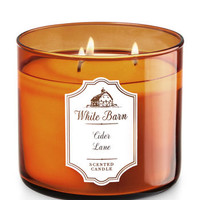 Cider Lane 3-Wick Candle - White Barn | Bath And Body Works