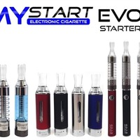 Make a MyStart EVOD 900mAh Starter Kit Electronic Cigarette in Charleston South CarolinaIncludes 2 900mah batteries 2 bottom coil tanks.You Choose the color.