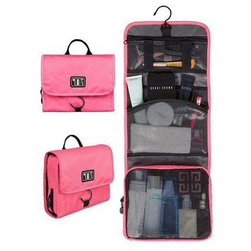ICIKION Waterproof Travel Toiletry Bag With Hanger