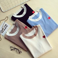 Women Casual Pullover Warm Sweater