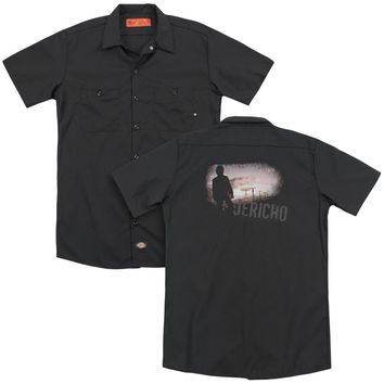Jericho - Mushroom Cloud (Back Print) Adult Work Shirt