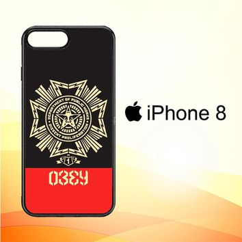 Obey Clothing O0726 iPhone 8 Case