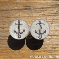 Anchor Shape Shifter Plugs - 00g, 7/16, 1/2, 9/16, 5/8, 3/4, 7/8, 1 Inch - CUSTOMIZABLE