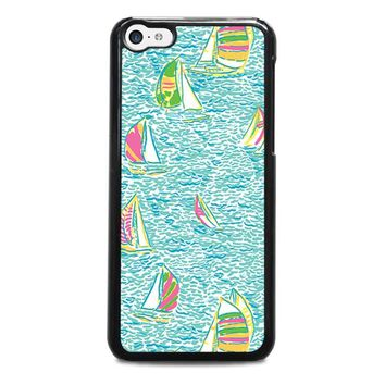 LILLY PULITZER SAILBOAT iPhone 5C Case Cover