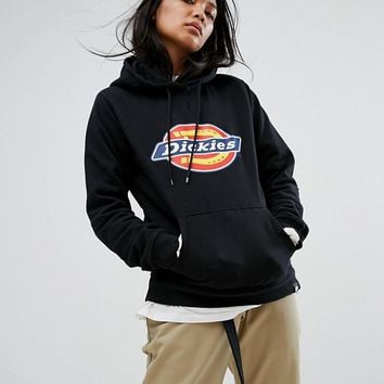 Dickies Oversized Hoodie With Logo Print at asos.com