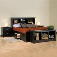 Storage Beds & Headboards | Home Living | SkyMall