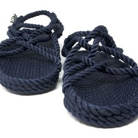 jc sandal in navy blue