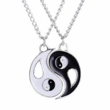 Best Friend Ying-Yang Necklaces