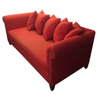 Pre-owned Crate & Barrel Red Sofa
