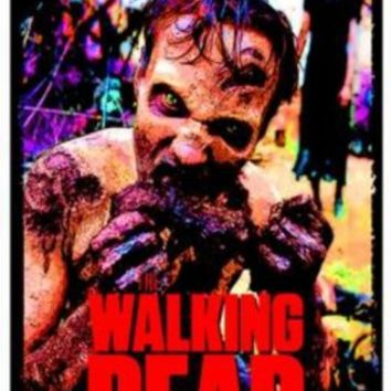 The Walking Dead Zombie TV Blacklight Poster