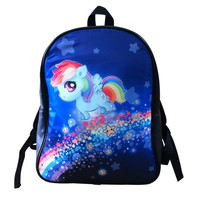 Rainbow Dash - Leather backpack - LBP1