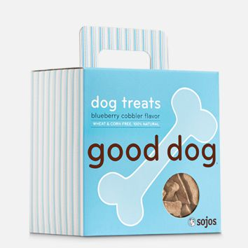 sojos Good Dog Treats Blueberry Cobbler