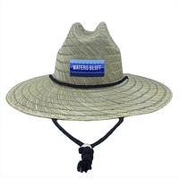 Wave Straw Hat by Waters Bluff